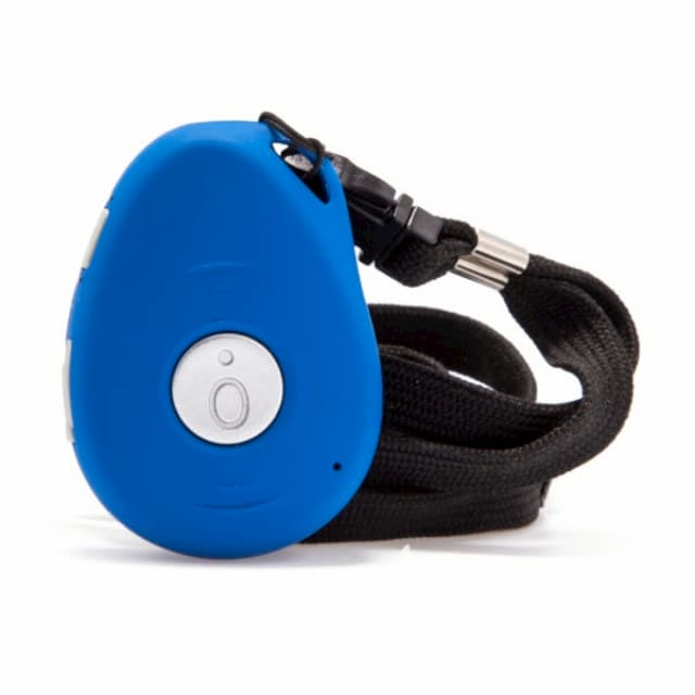 personal fall alarm for elderly blue