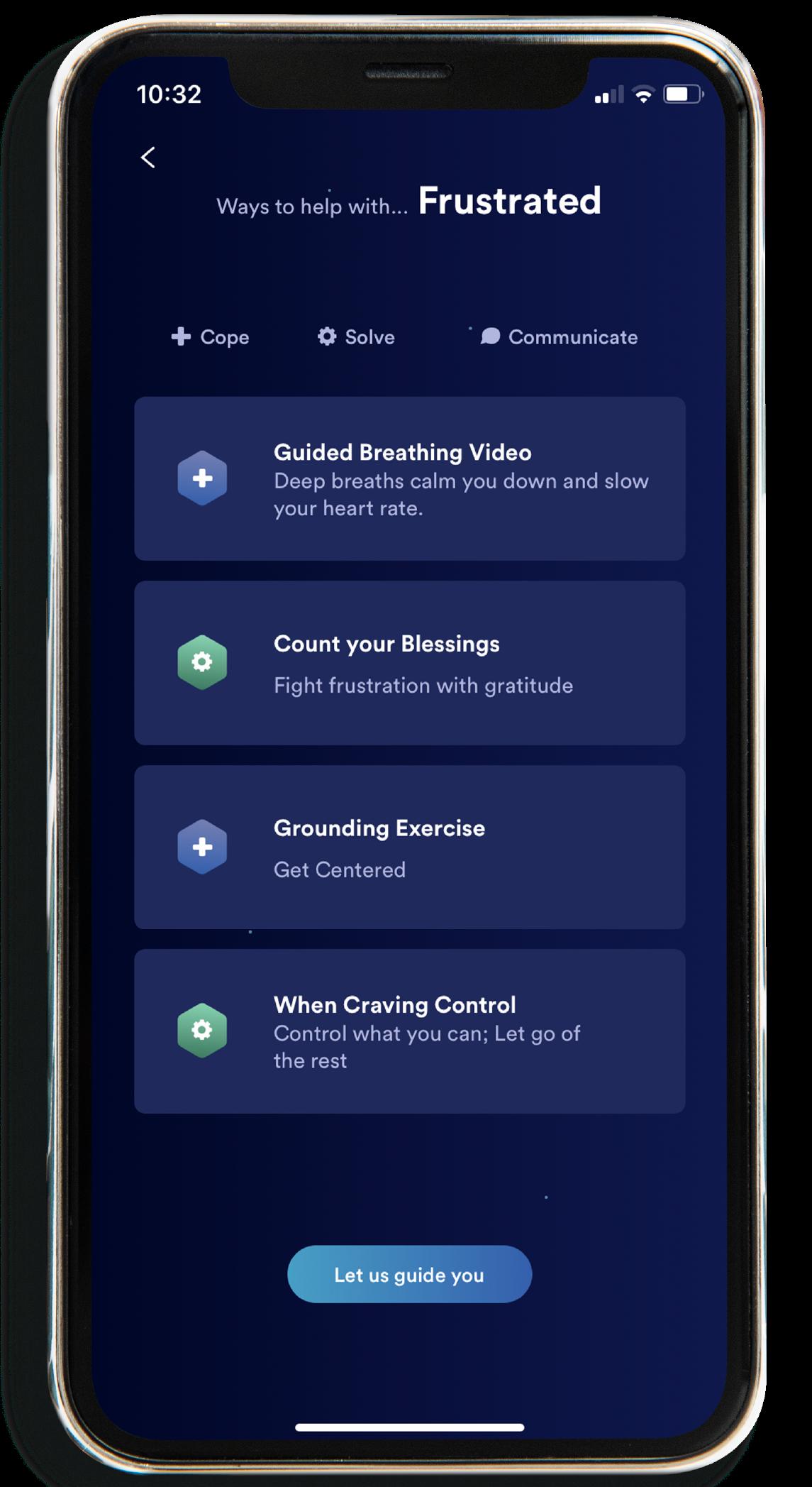 Emotional management app