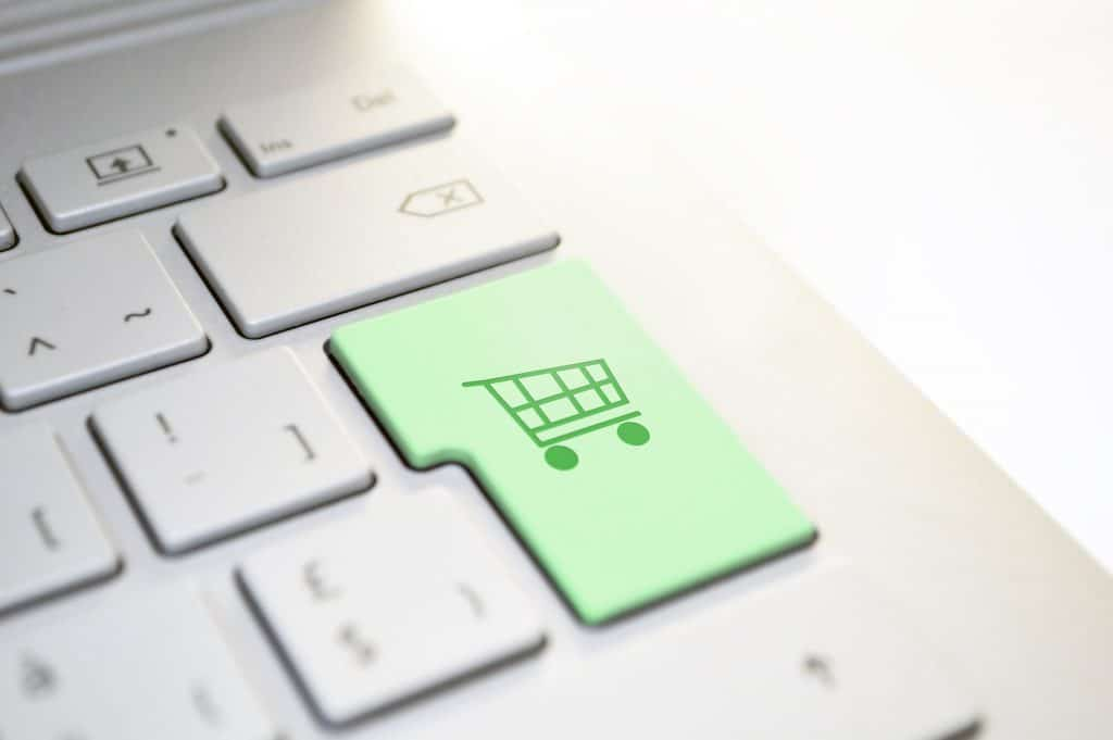 online shopping enter button
