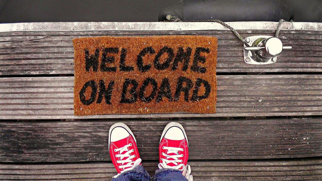 Welcome On Board image