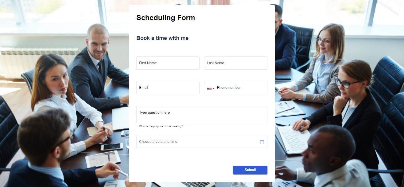 Appointment Booking Form template