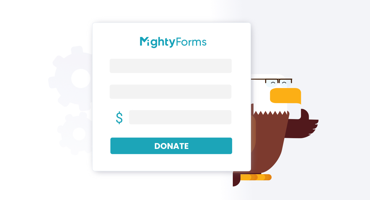 Create a donation form for free with MightyForms