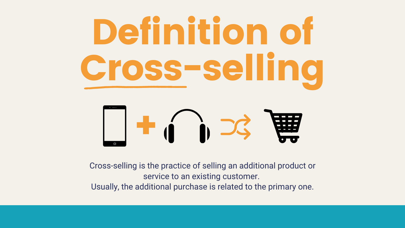 definition of cross selling  infographic  _ MightyForms