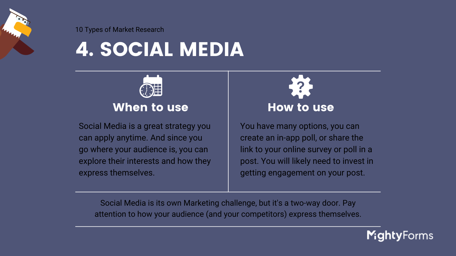Types of Market Research - Social Media - infographic_ MightyForms