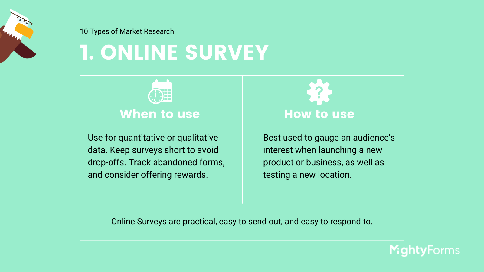 Types of Market Research - Survey - infographic _ MightyForms