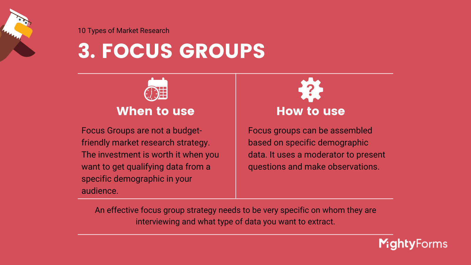 Types of Market Research - Focus Groups - infographic_ MightyForms