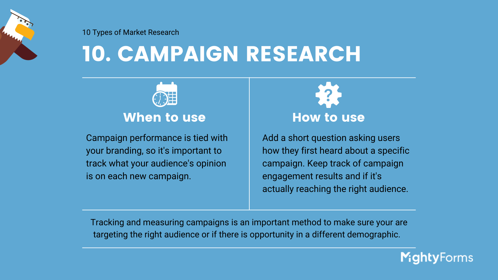 Types of Market Research - Campaign research - infographic_ MightyForms