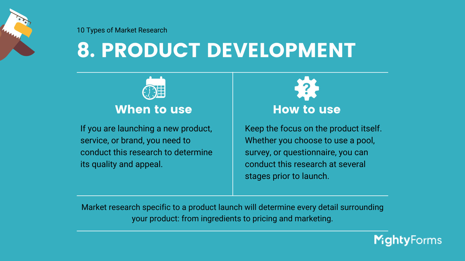 Types of Market Research - product development - infographic_ MightyForms