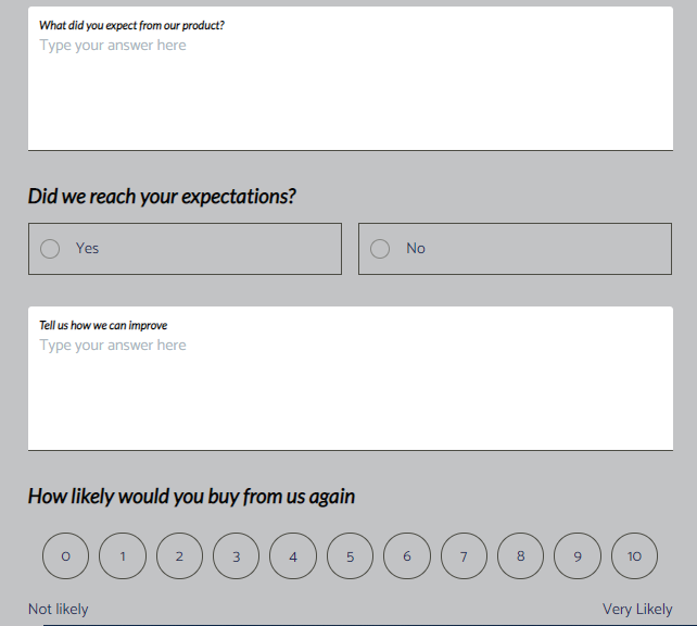 Product Evaluation template _ MightyForms