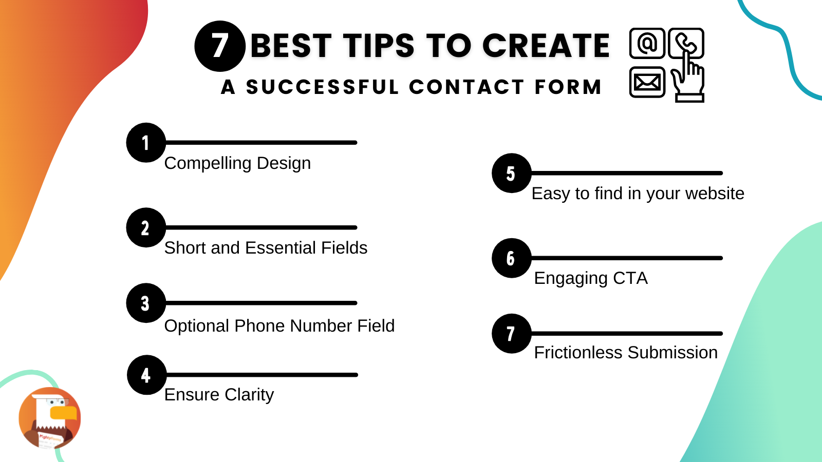 Best Tips to create a Contact Us Form _ MightyForms