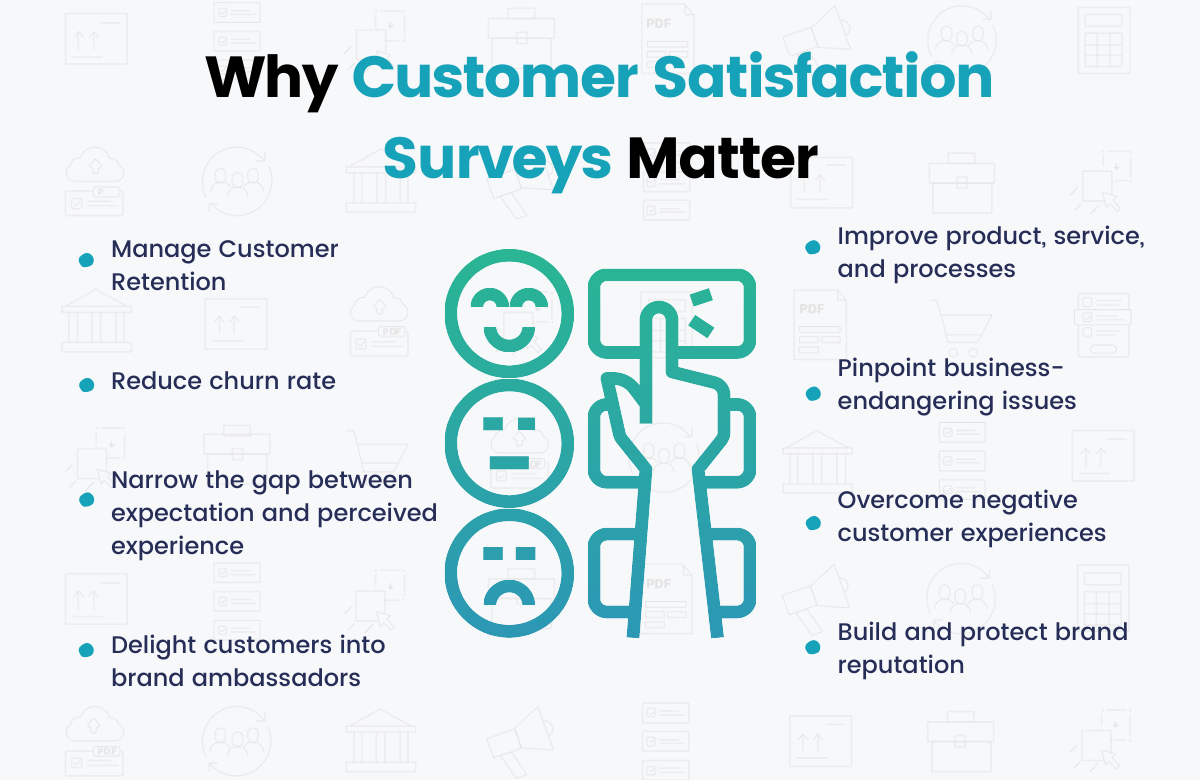 Why Customer Satisfaction Survey Matters - Benefitsinfographic