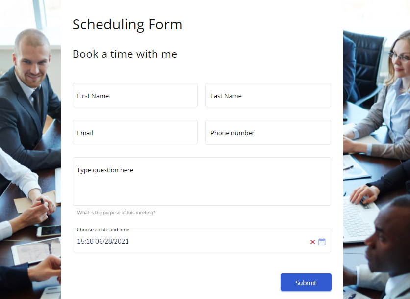 book an appointment form template - MightyForms