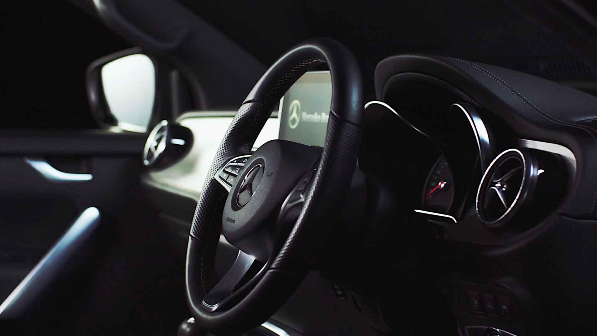 Mercedes Benz – X-Class Pickup ad