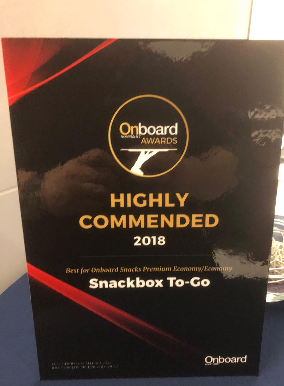 Onboard Hospitality Award 2018 paper