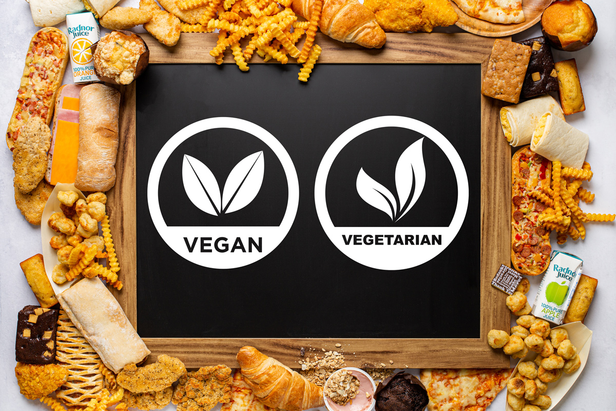 Veggie and Vegan products