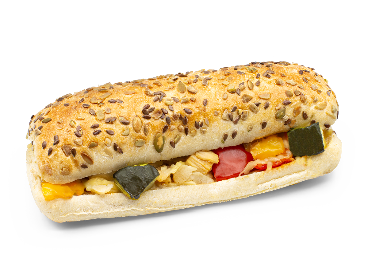 Panini Chicken & Vegetables