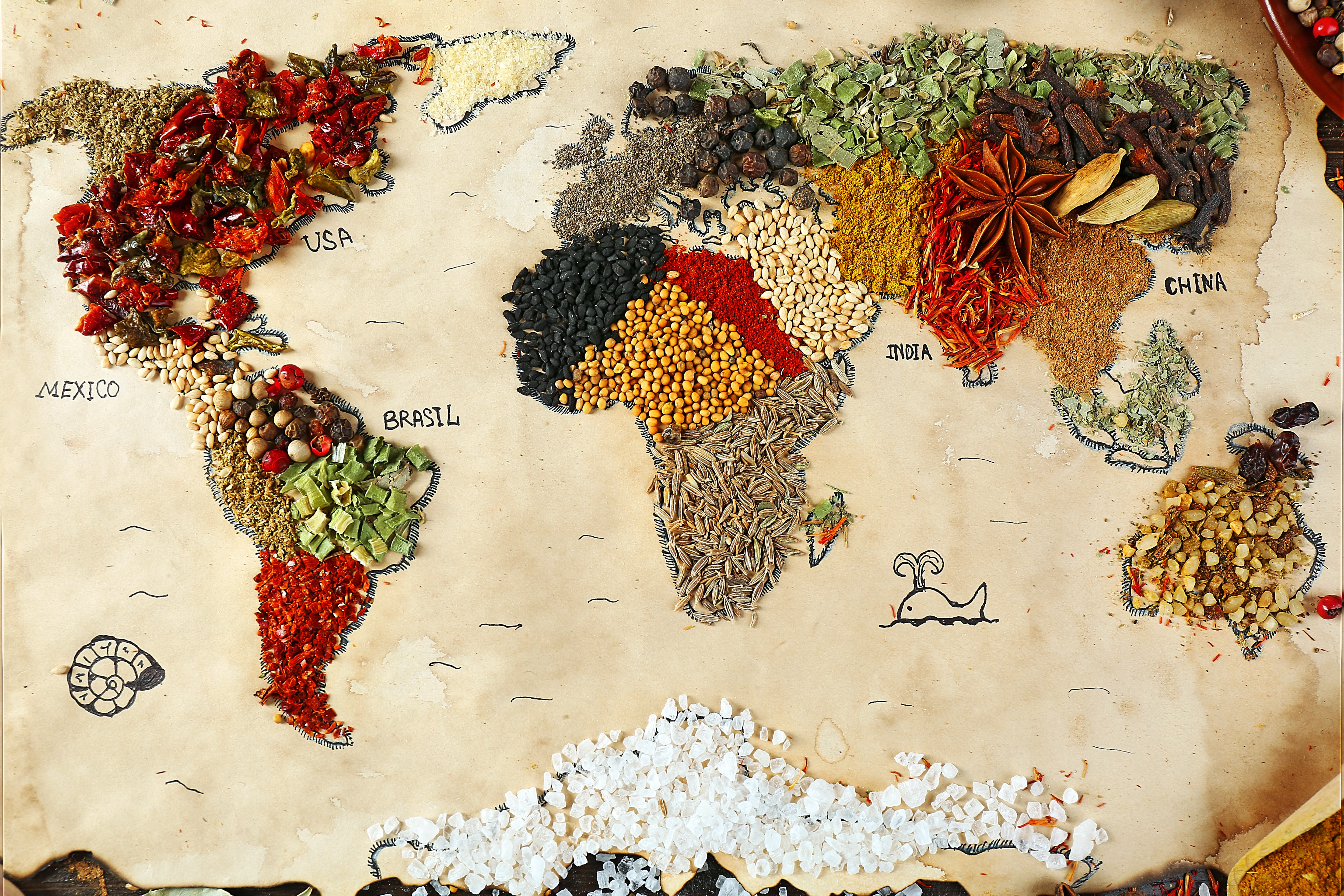 Can you serve the same food in every continent?