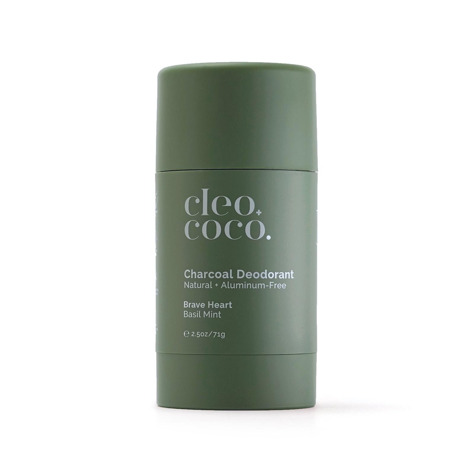 Basil Mint Charcoal Deodorant