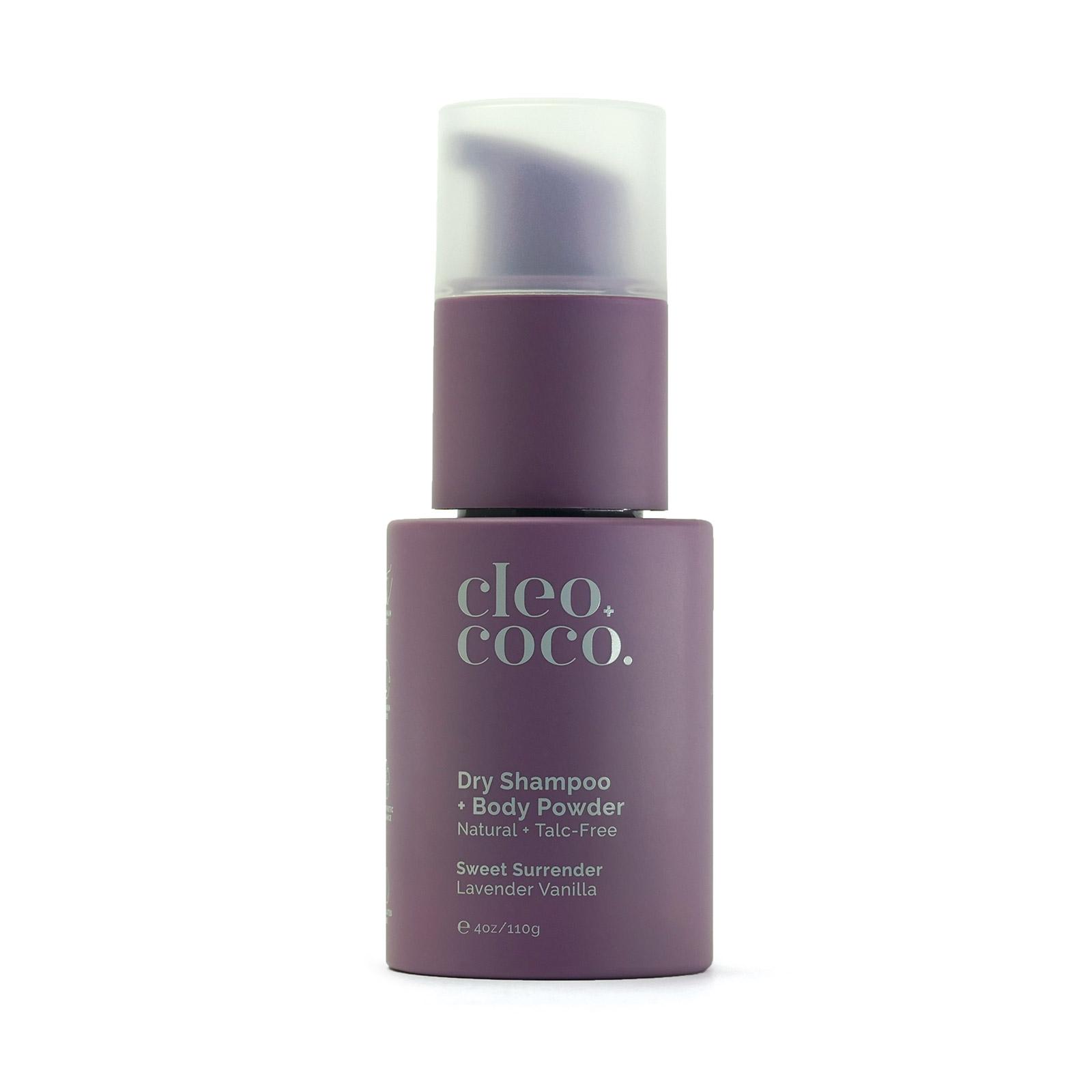 Lavender Vanilla Dry Shampoo + Body Powder