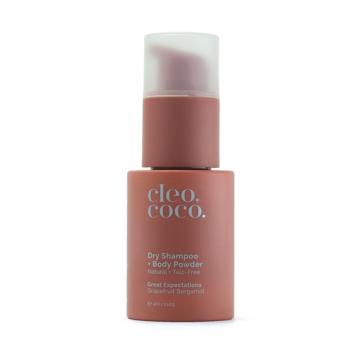 Grapefruit and Bergamot Dry Shampoo + Body Powder
