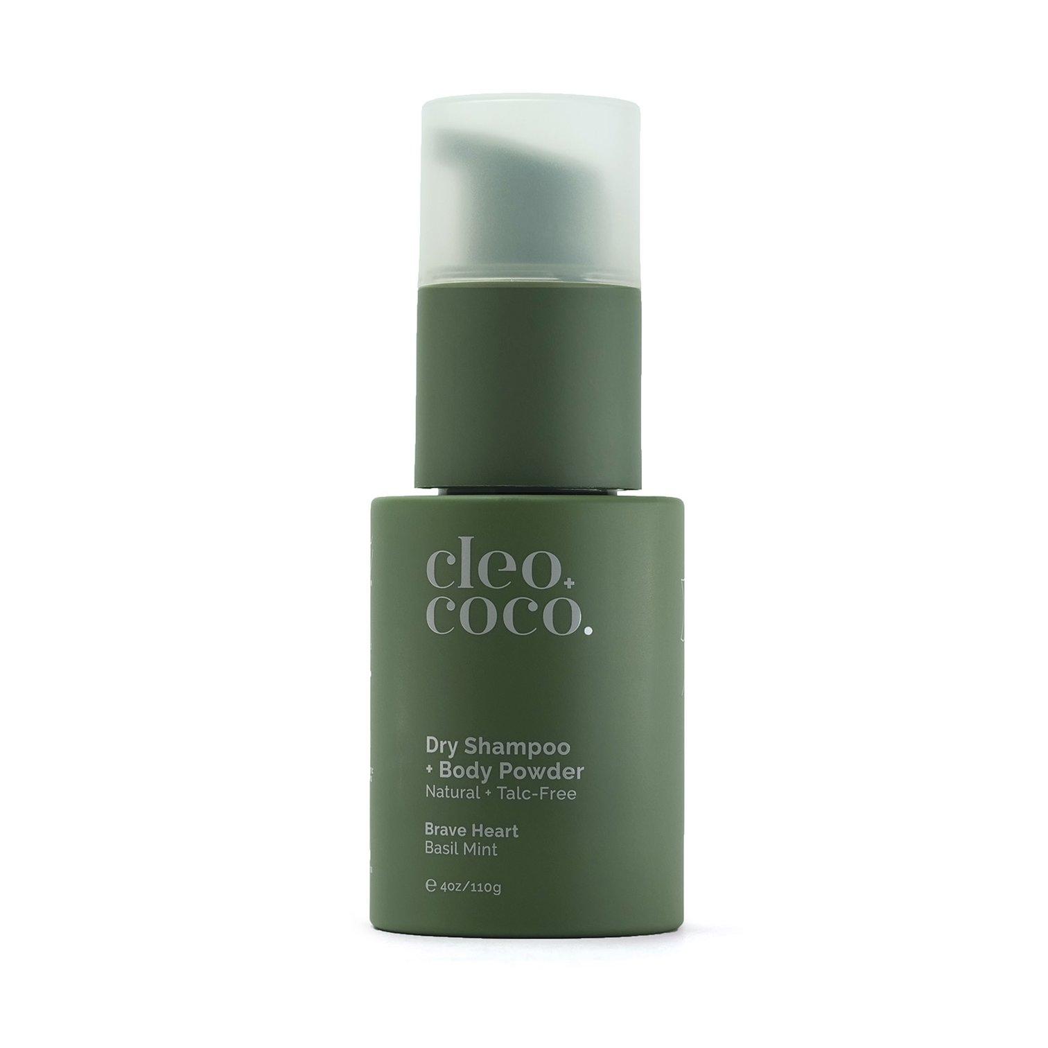 Basil Mint Dry Shampoo + Body Powder
