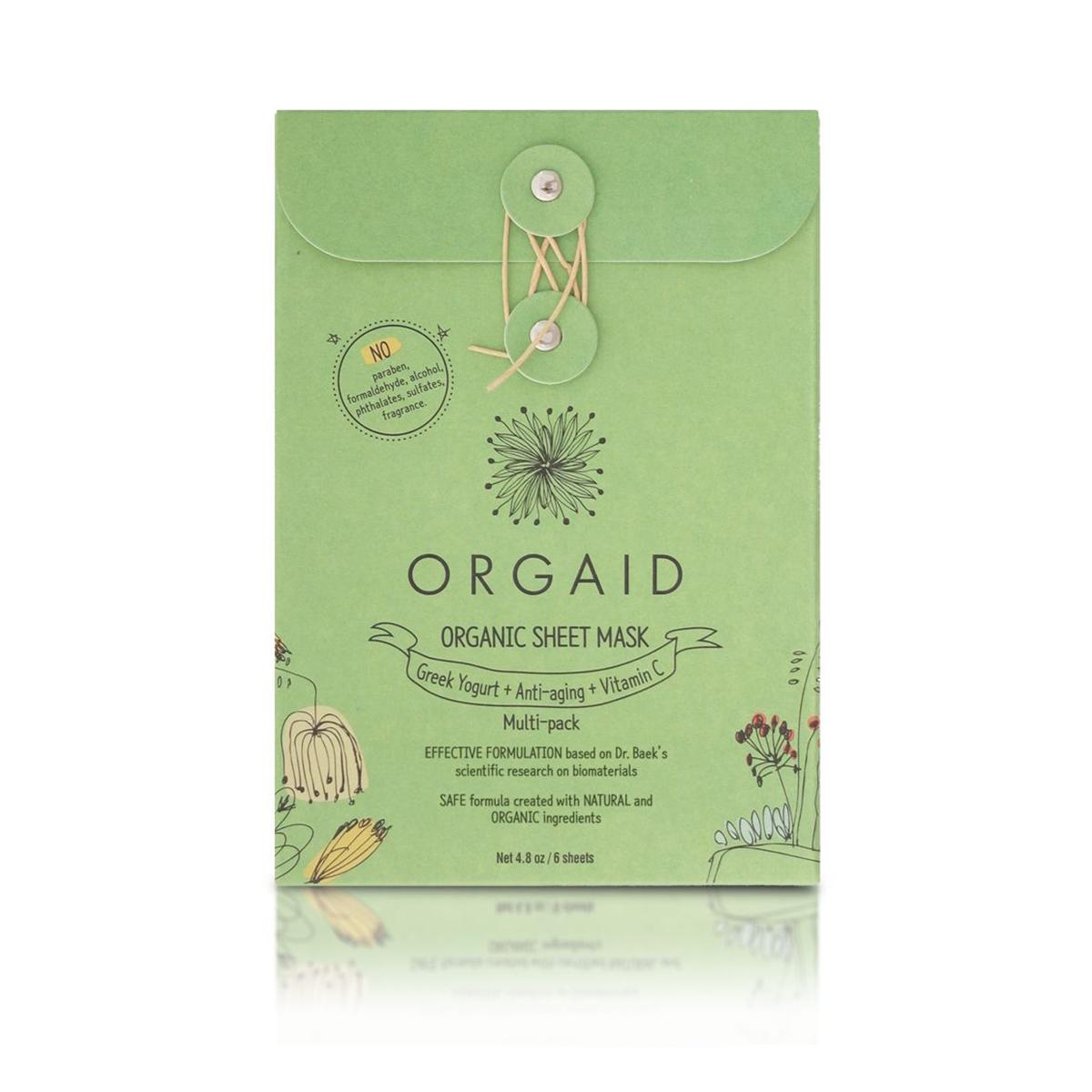 Organic Sheet Mask Multi-Pack (6 Sheet Pack)