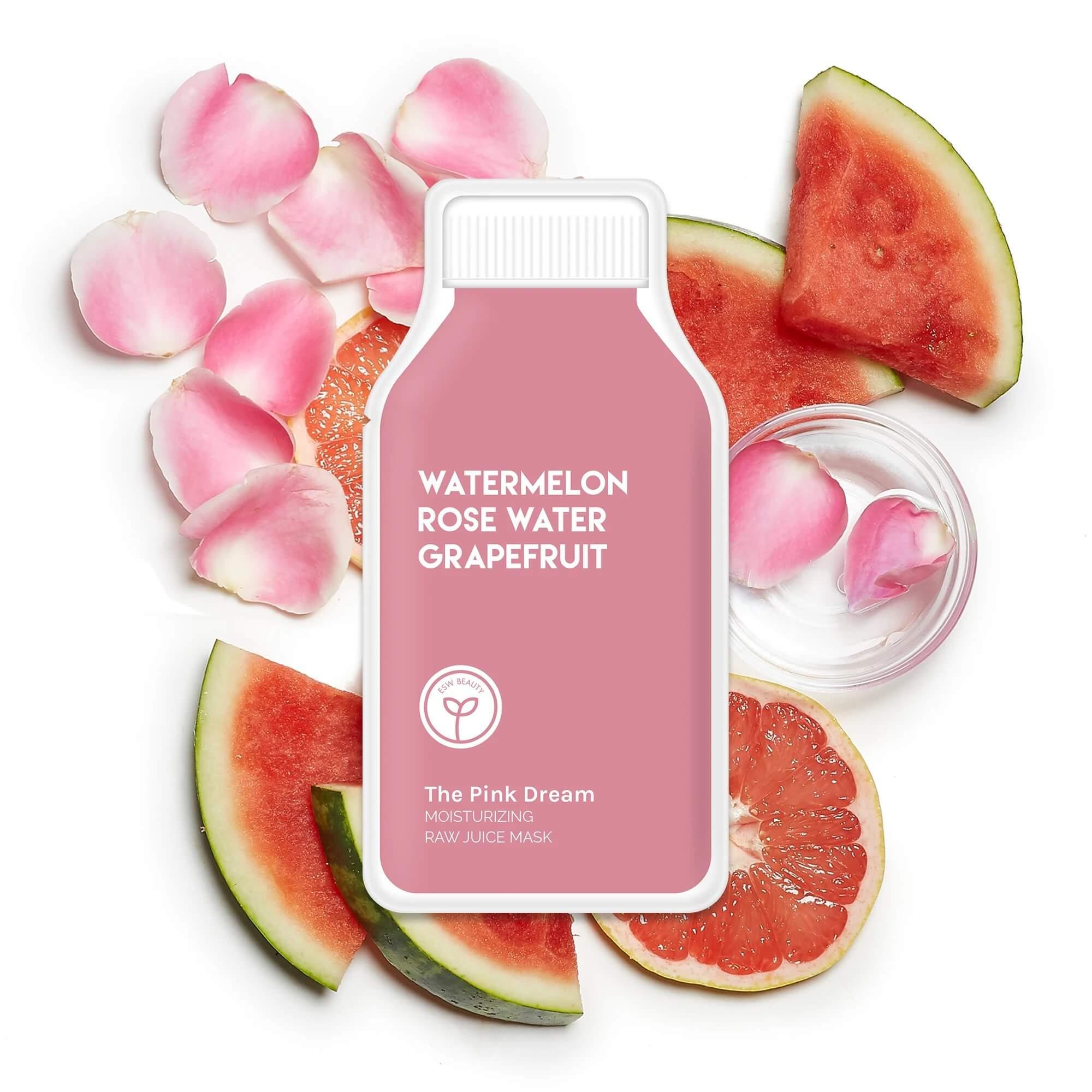The Pink Dream Moisturizing Raw Juice Mask