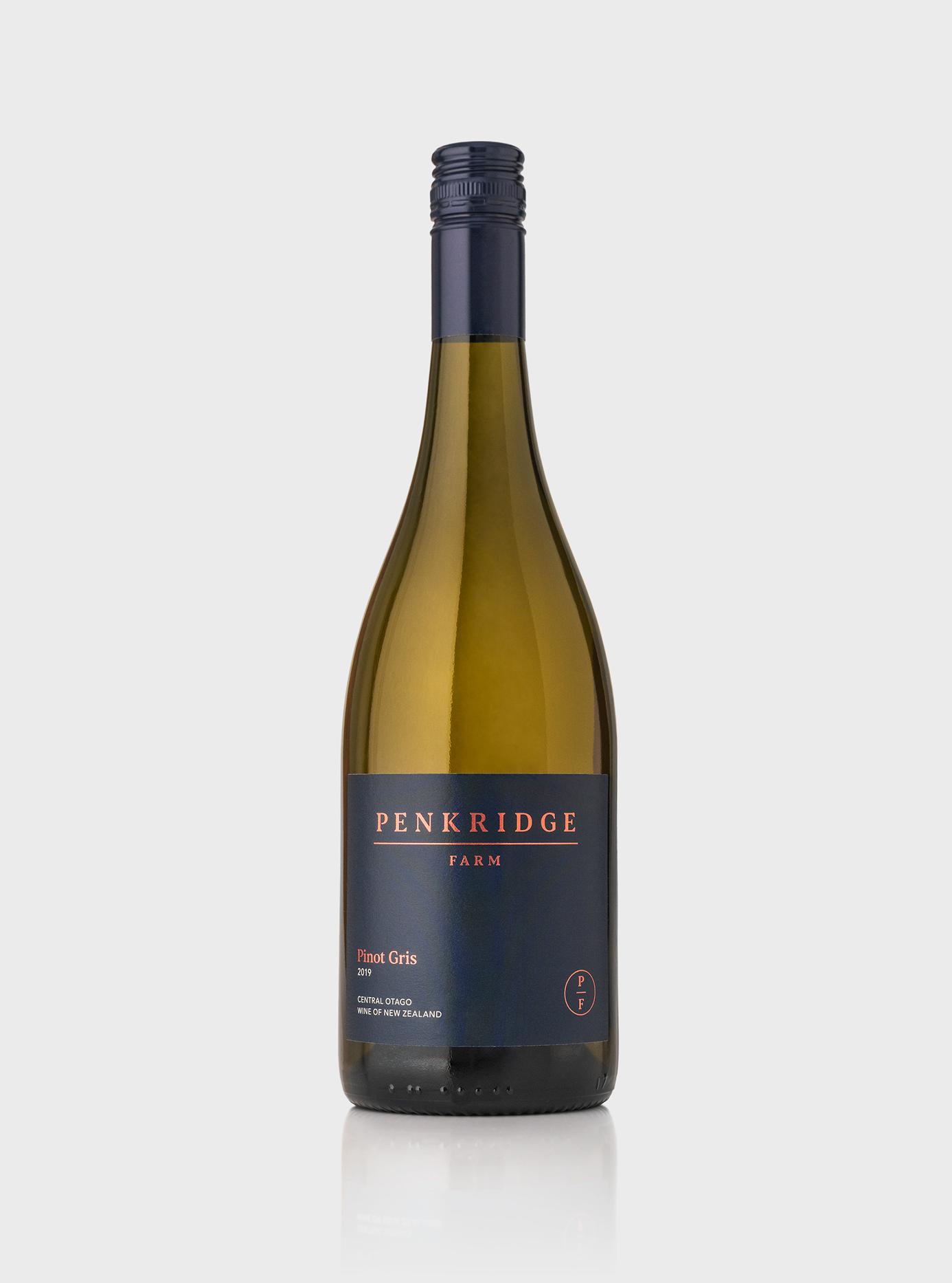 Penkridge Farm wine bottle label
