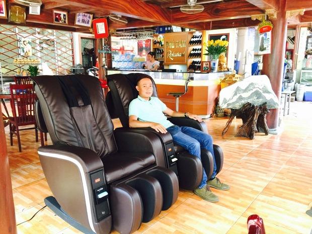 Cho thuê ghế massage: Hình thức kinh doanh mới