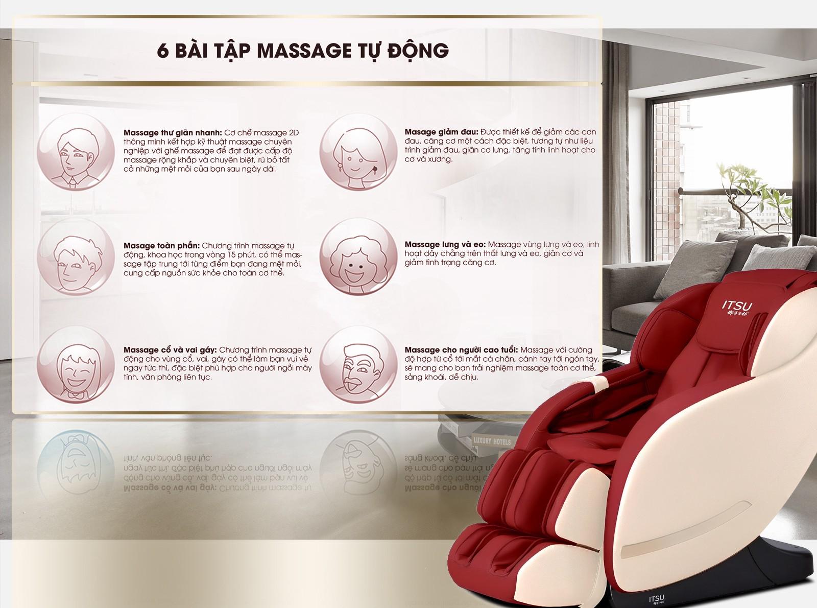 Ghế massage ITSU SU-100 | Gọi 091 394 4284 nhận Voucher giảm giá | by MIN.H  | Medium