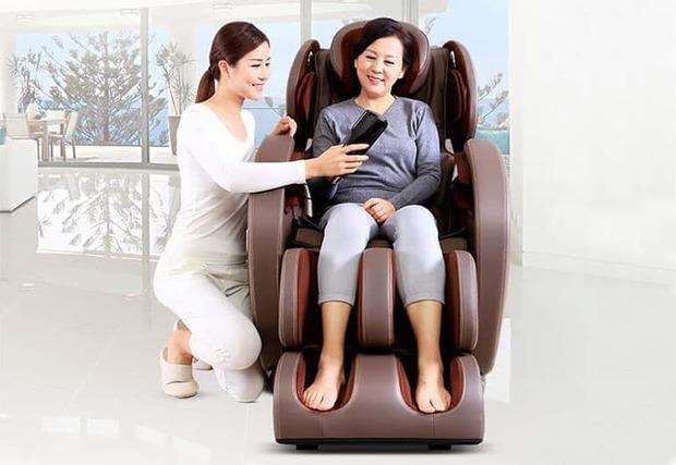 công dụng của ghế massage đối với hệ hô hấp