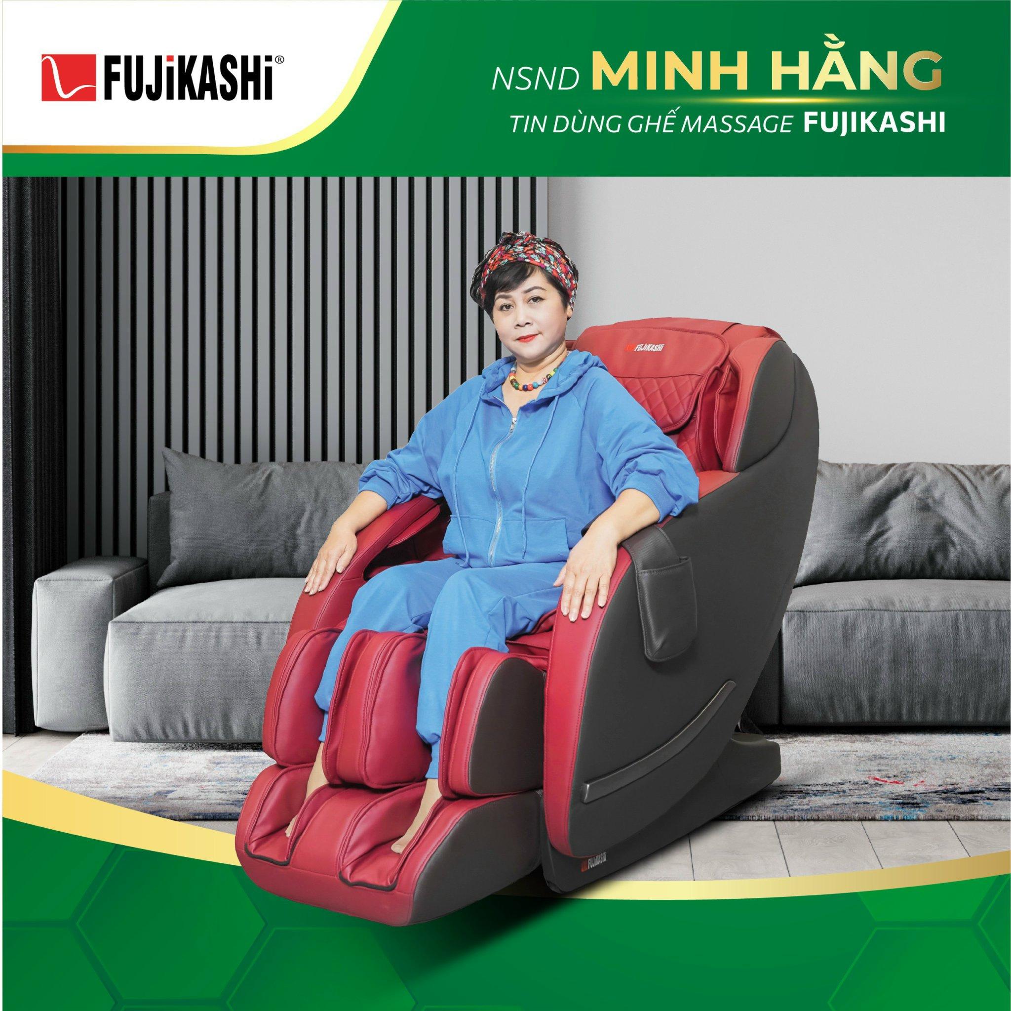 Hệ thống túi khí của ghế massage Fujikashi FJ-4000