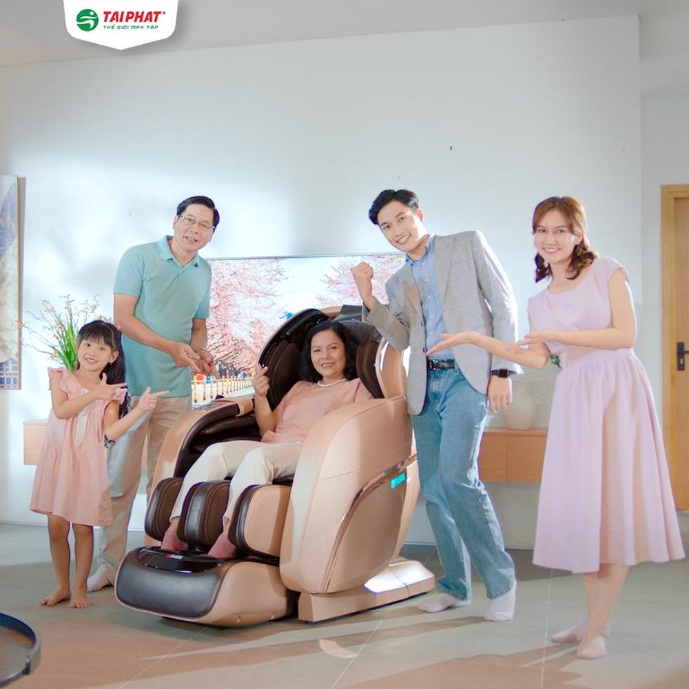Ghế massage toàn thân Fujikashi FJ-7000 - Nâng tầm đẳng cấp sống Việt