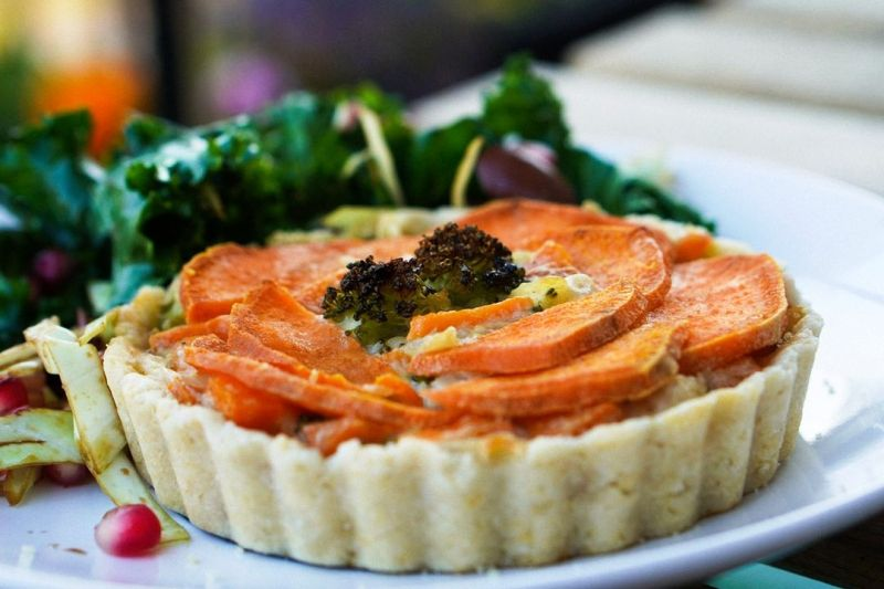 brEAThe Kitchen is owned by Daphna Kedem, is zero-waste and sells vegan pies, quiches, condiments, and desserts, with a gluten-free selection.