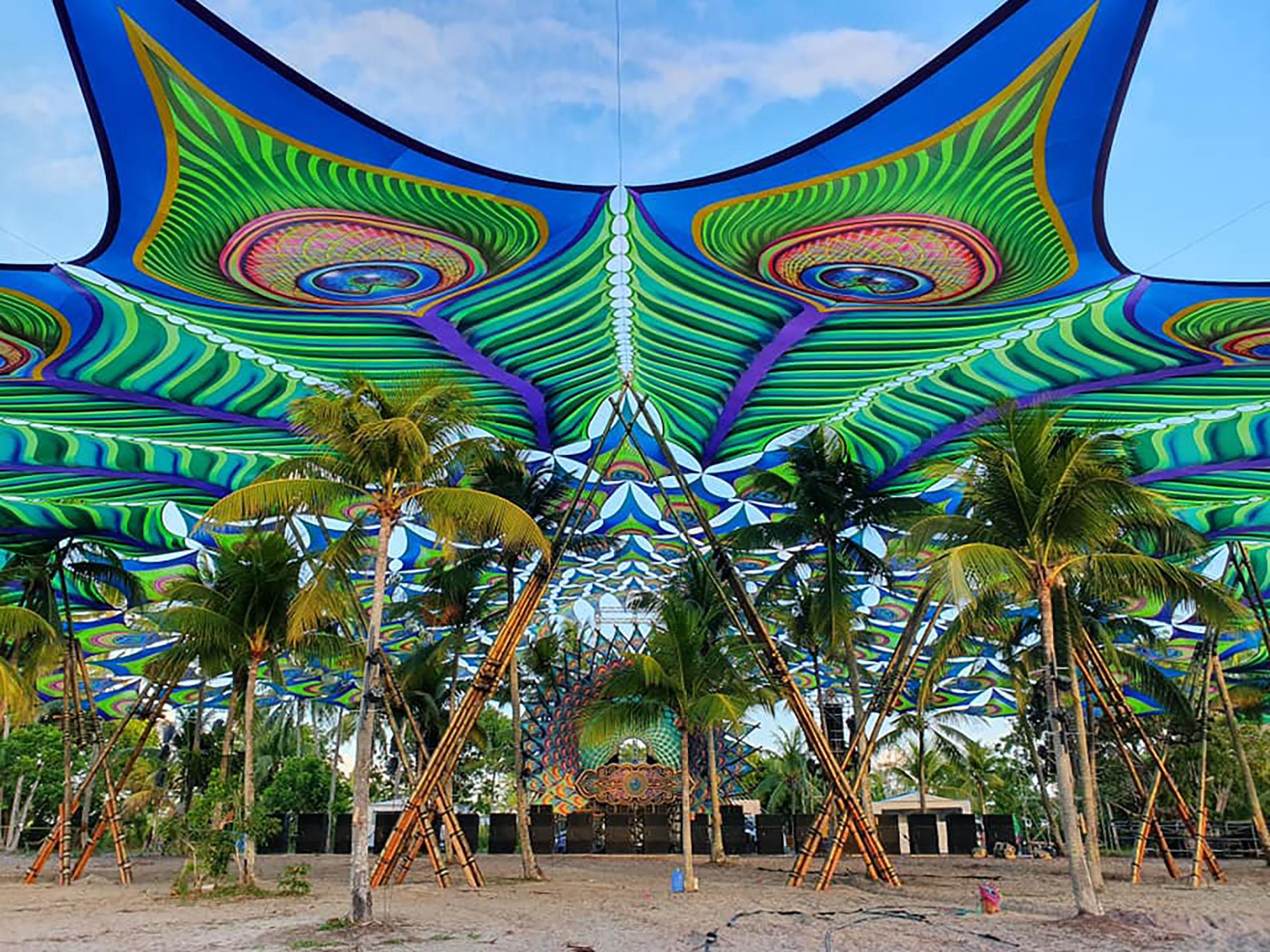 Peacock Canopy