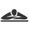 Deep tissue massage icon