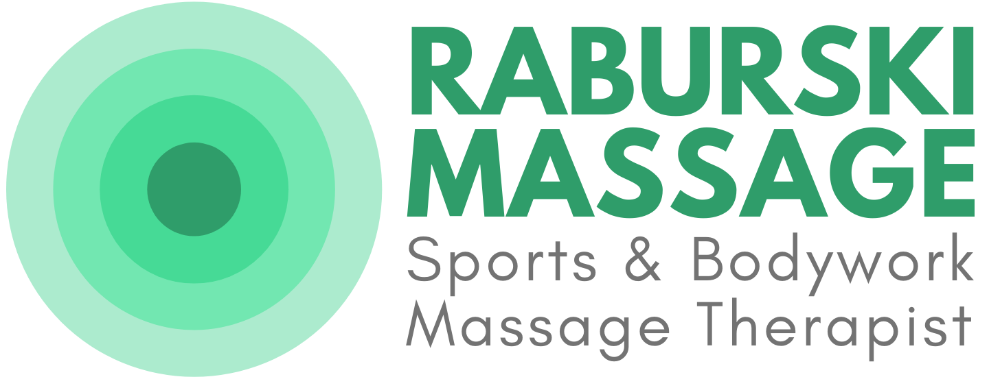 Raburski Massage Sports and Bodywork Massage Therapist Logo