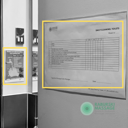 a photo showing COVID19 Cleaning Checklist