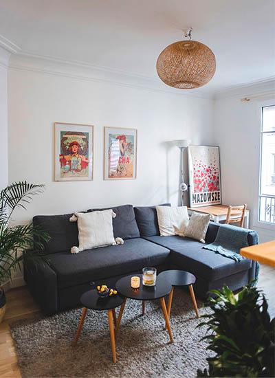 appartement rénové par Ernest