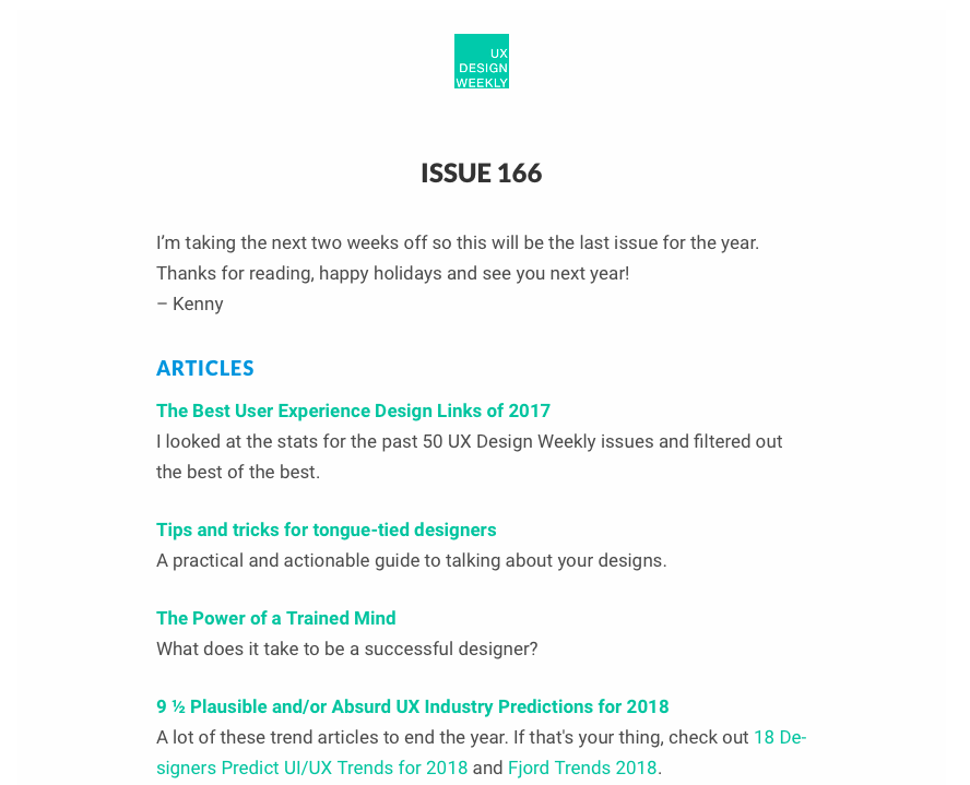best newsletters design