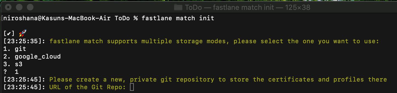 match init