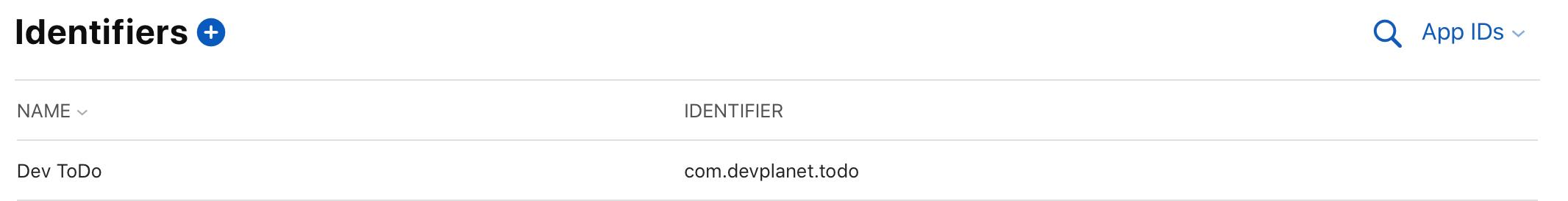 Apple Developer Portal