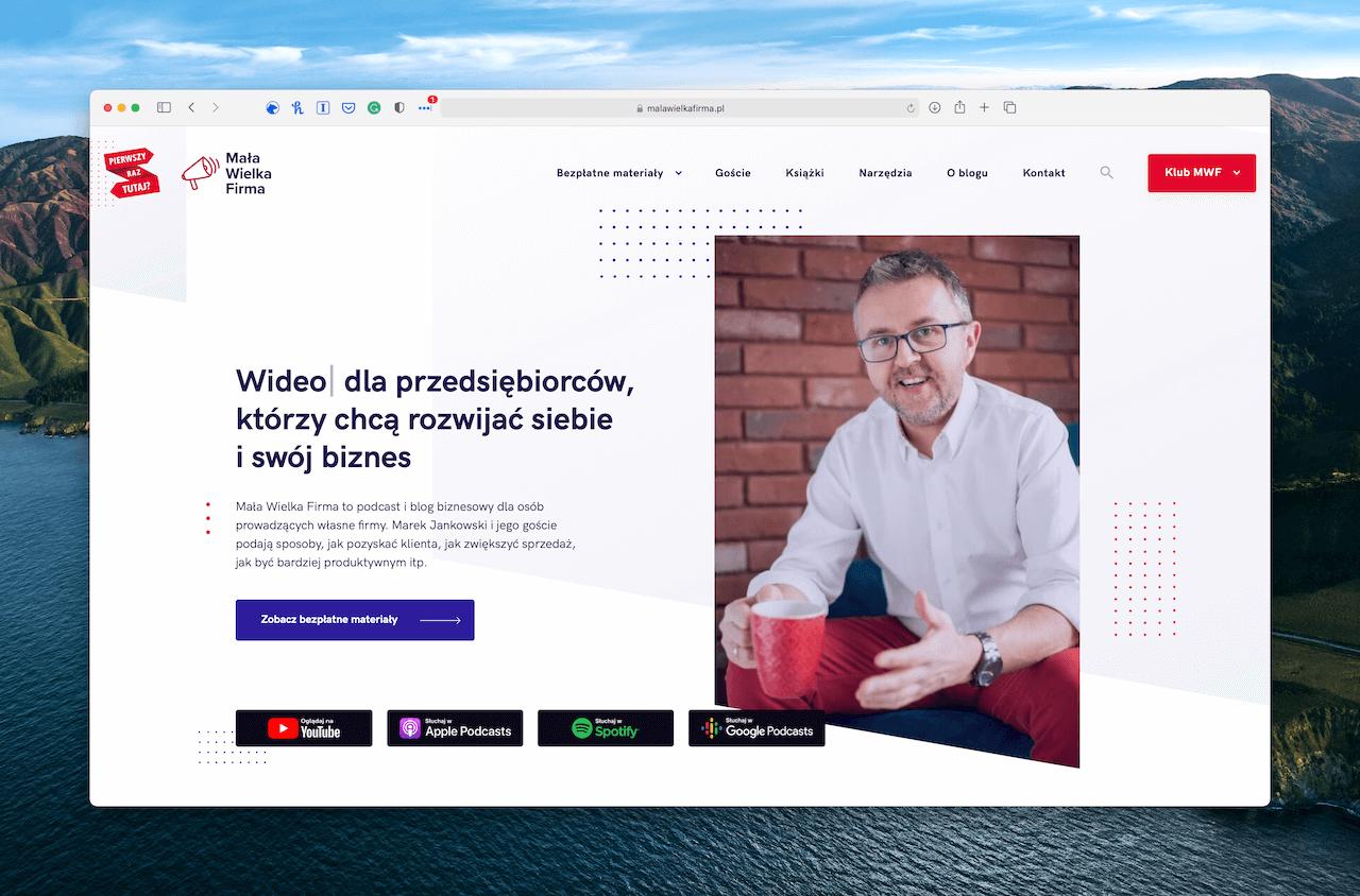 Mała wielka firma podcast, Marek Jankowski