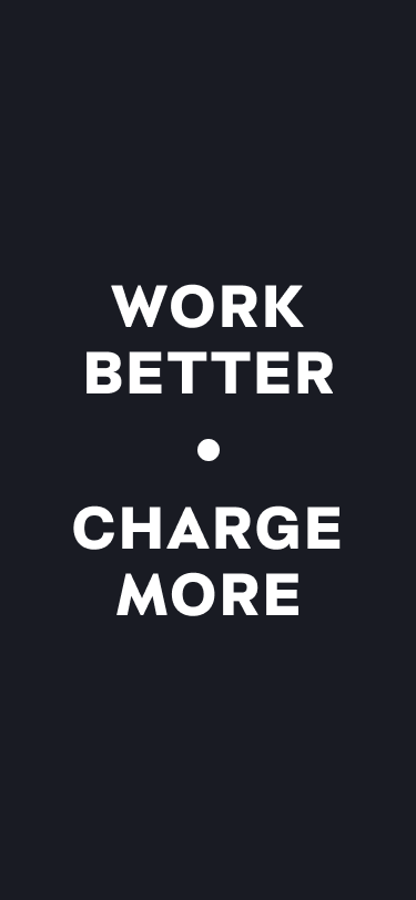tapeta Work Better. Charge More iPhone 12