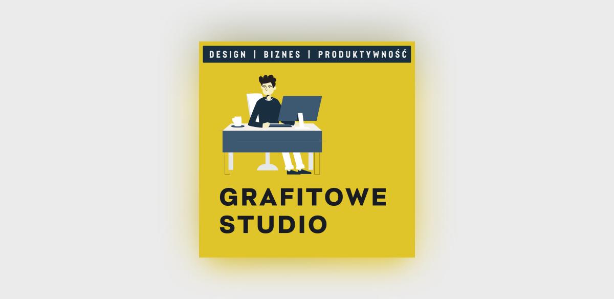 Okładka mojego podcastu Grafitowe Studio