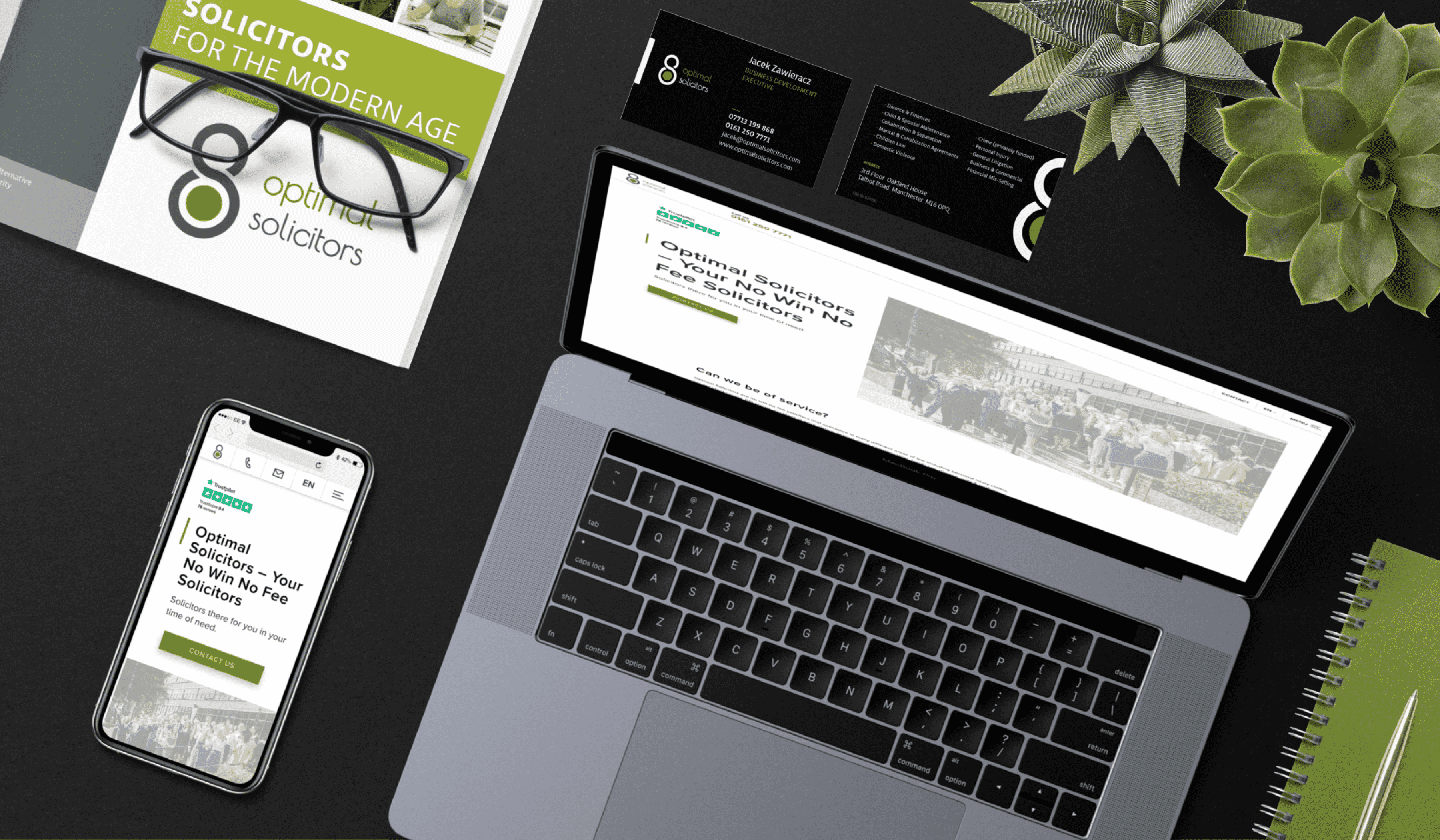 Web design and marketing for specialists in law on a wide scale. They deal with all cases starting from accident claims, divorces and business negotiations