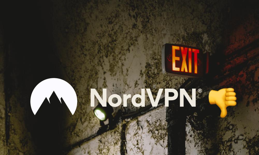 Jak NordVPN blokuje możliwość skasowania subskrypcji