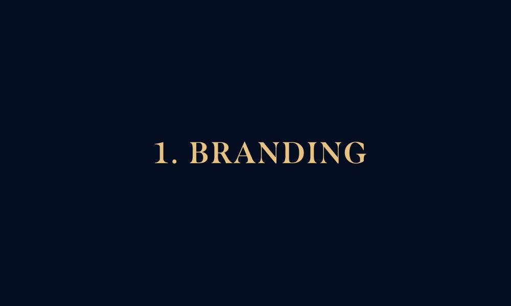 1. branding