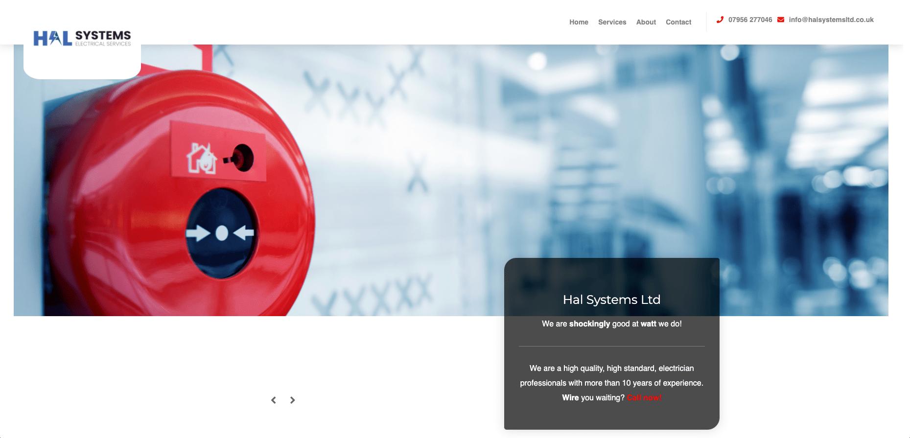 Hal Systems Ltd stara strona