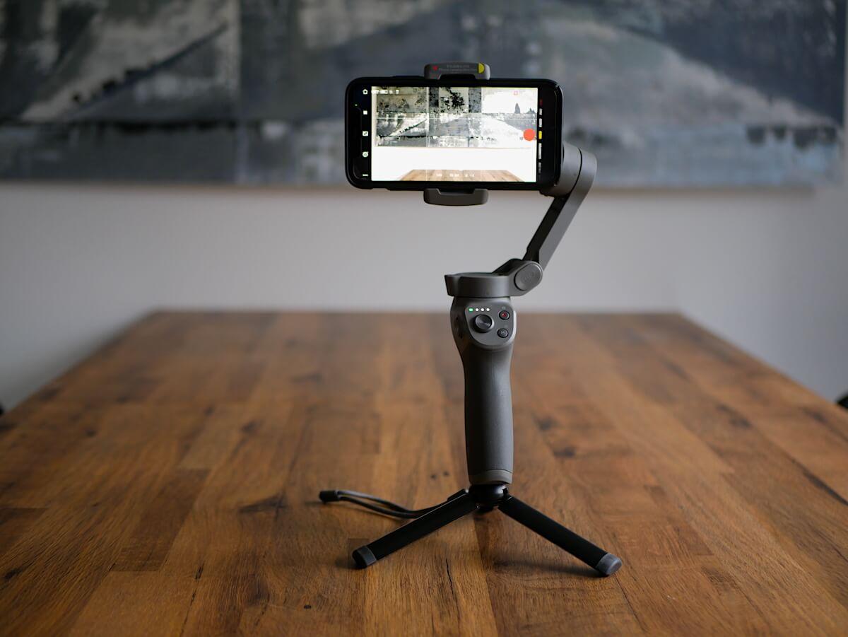 Gimbal, którego używam, DJI Osmo Mobile 3